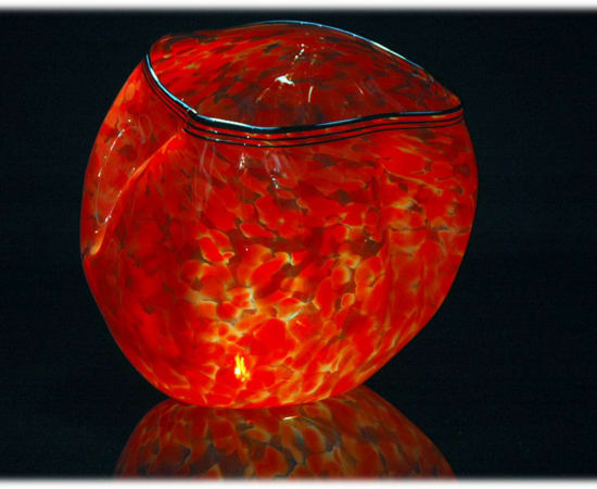 Robert Kaindl, Bright Red With Black Lip Wrap
