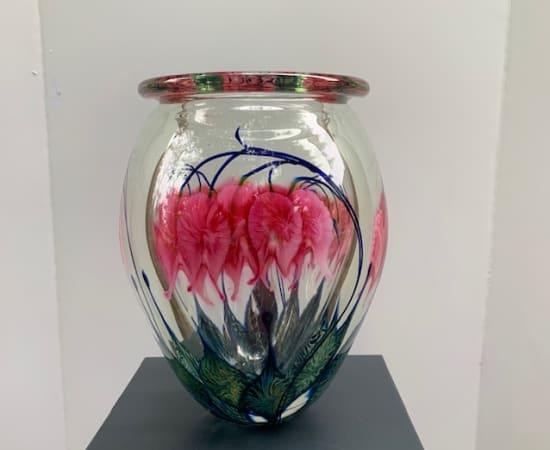 Tim Lotton, Pink Bleeding Heart Vase
