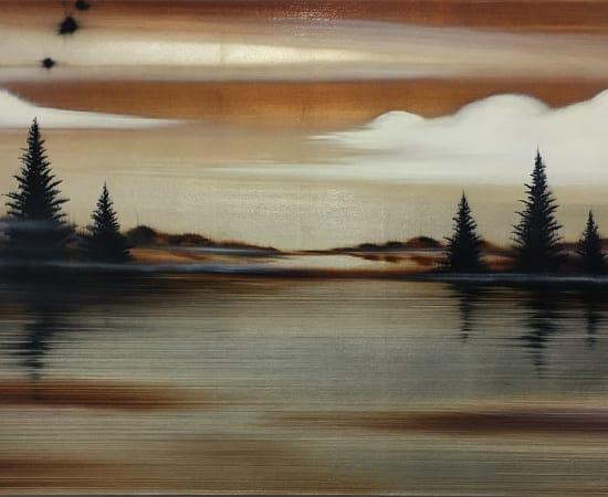 Hamilton Aguiar, By the Lake