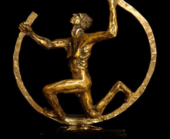 Gib Singleton, Olympian (Small)