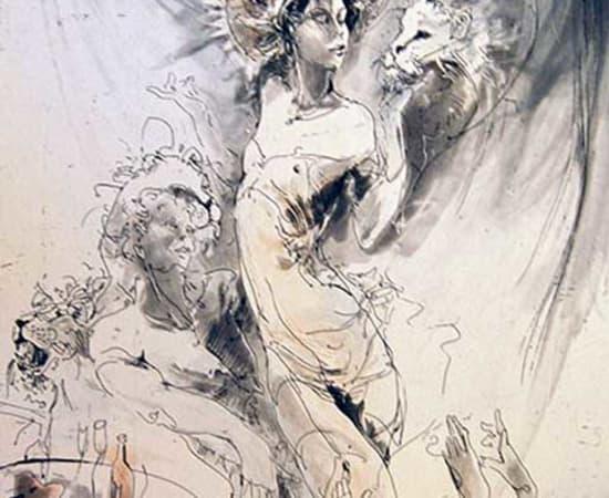 Jurgen Gorg, Zodiac Series - Leo