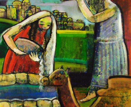 Helen Zarin, Abraham Sends for Rachel