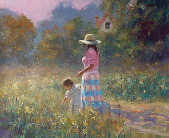 Robert Hagan, Picking Flowers