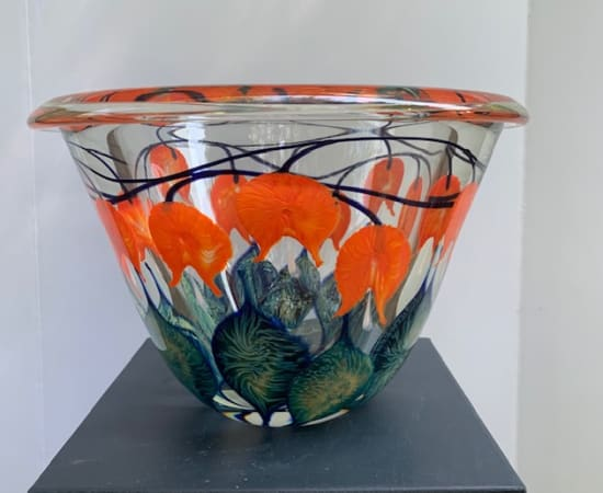Tim Lotton, Orange Bleeding Heart Bowl