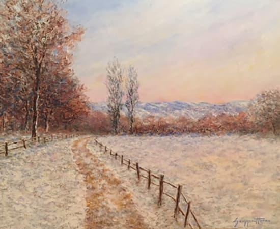 James Scoppettone, Mid Winter Glow