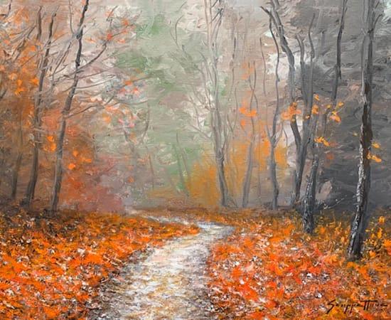 James Scoppettone, Autumn Mist