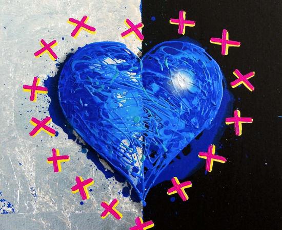 James Jensen, Blue Heart 10221
