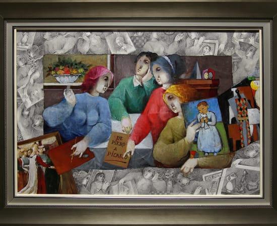 Alvar, De Piero a Picasso