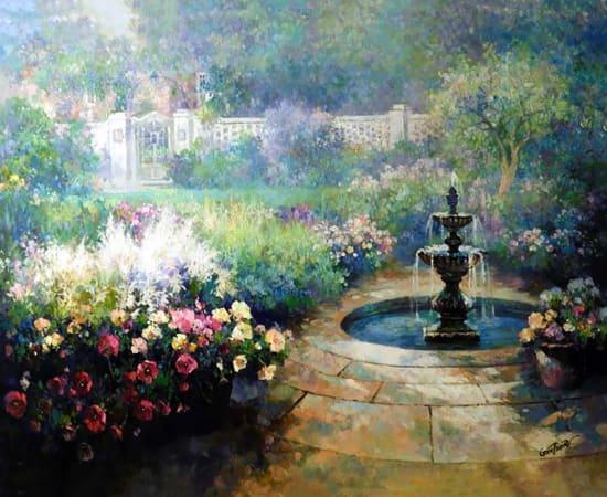 Paul Guy Gantner, Fountain