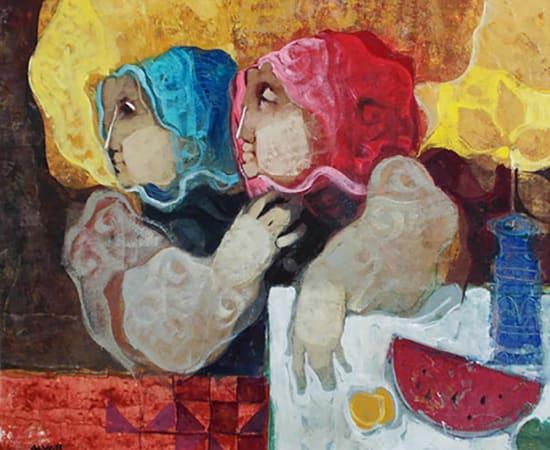 Alvar, Women with Melon