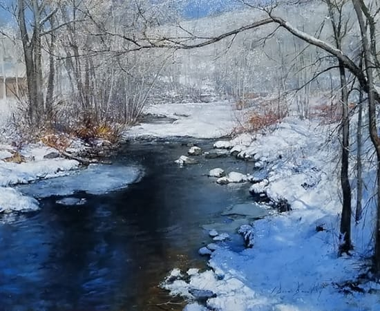 Dean Bowlby, An Early Thaw on the Roaring Fork