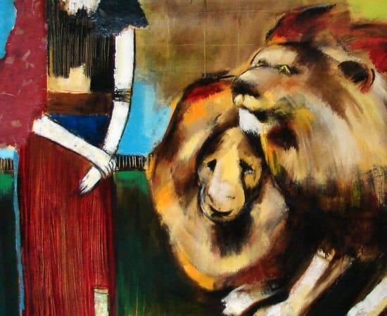 Helen Zarin, Daniel In Lion Cage