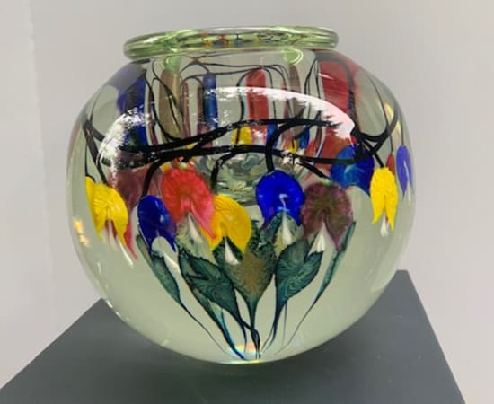 Tim Lotton, Multi-Color Bleeding Heart Bowl