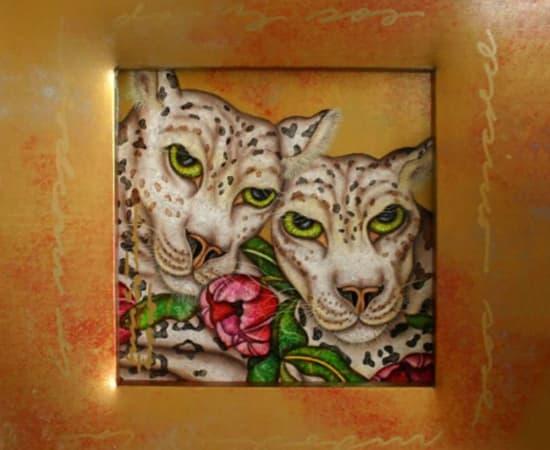 Luis Sottil, Unexpected Serenity (Snow Leopards)