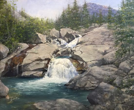 Dean Bowlby, Cascades of the Upper Fork