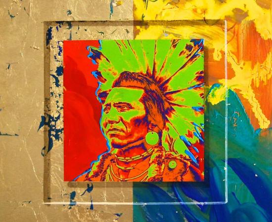 James Jensen, Salish Chief Eagle 10171