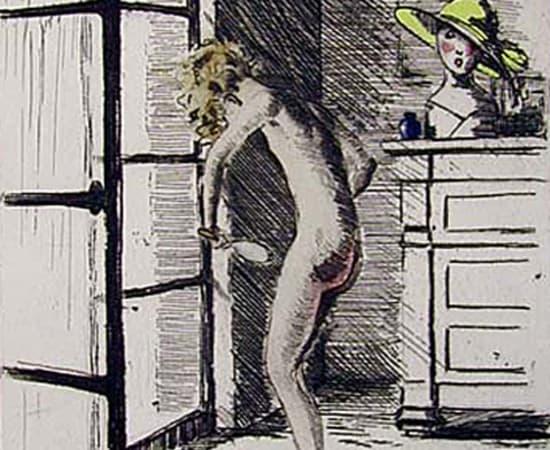 Louis Icart, Mirror Image