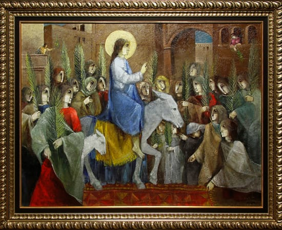 Alvar, Entrada de Jesus en Jerusalem