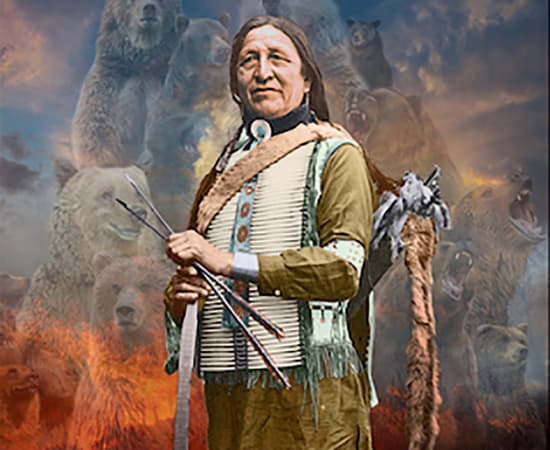 Antal Goldfinger, Chief Standing Bear