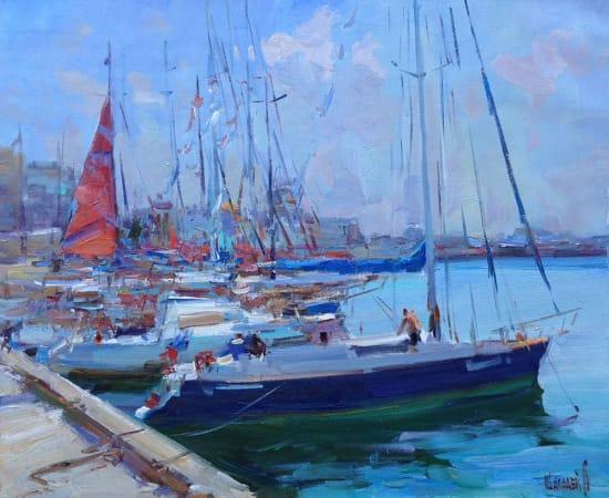 Alex Shabadei, Red Sail