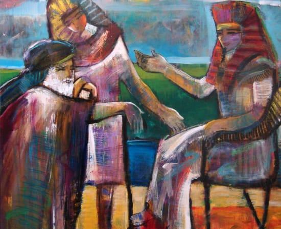 Helen Zarin, Jacob and the Pharoah