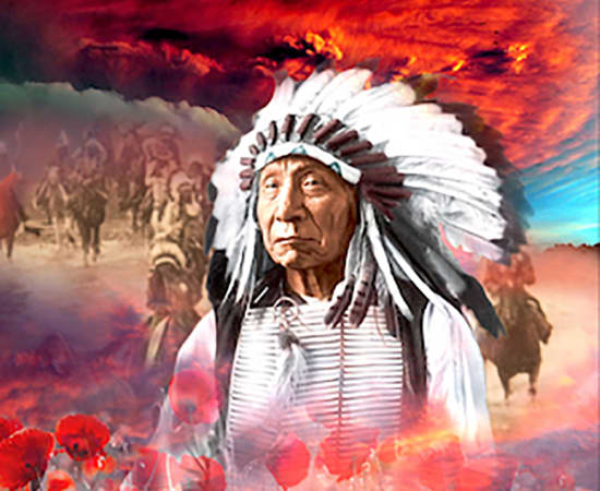 Antal Goldfinger, Chief Red Cloud
