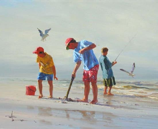 Robert Hagan, Good Day For Fishing