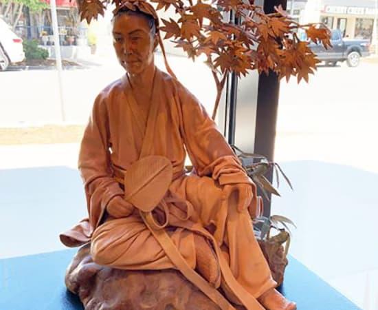 Liu Miao Chan, Serenity Scholar with Maple Leaf