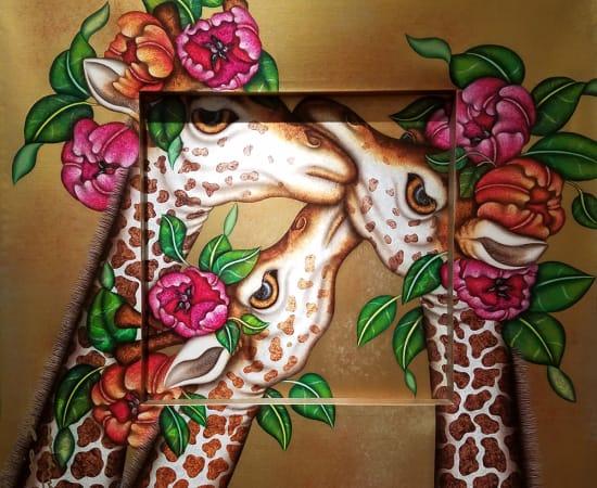Luis Sottil, Heavenly Giraffes