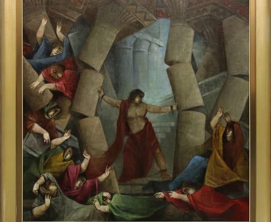Alvar, La Muerte de Samson