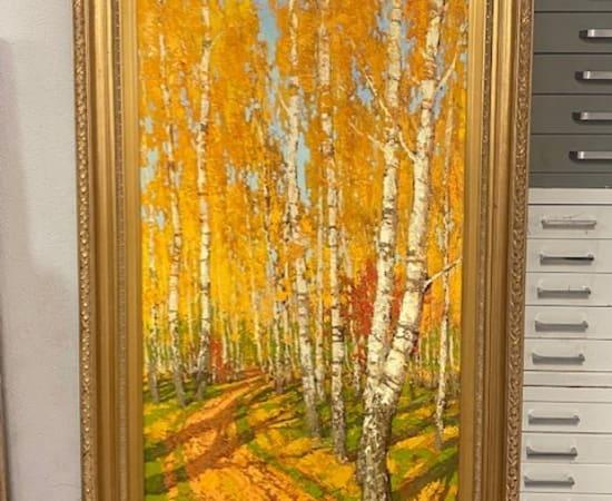 Vladimir Pentjukh, Forest Trail