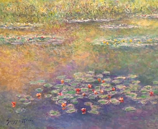 James Scoppettone, Summer In The Garden