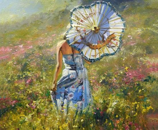 Robert Hagan, White Umbrella