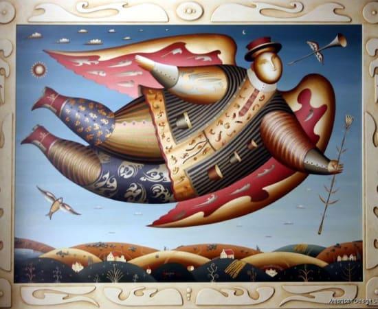 Anton Arkhipov, Floating Angel
