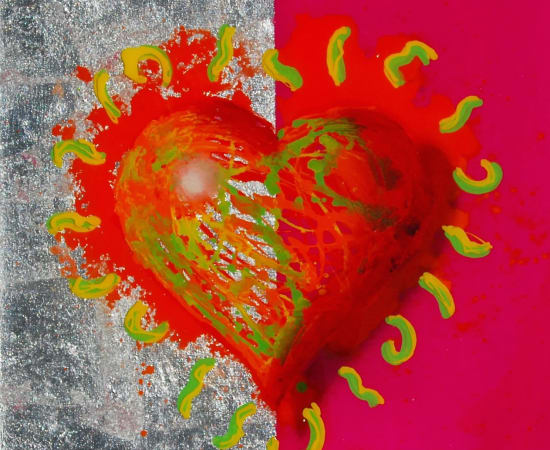 James Jensen, Heart Orange & Pink