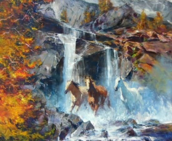 Robert Hagan, Waterfall Tetons