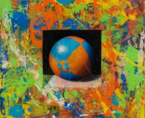 James Jensen, Orange Blue Bocce Ball JEN3030-00197