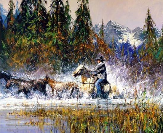 Robert Hagan, Mountain Roundup