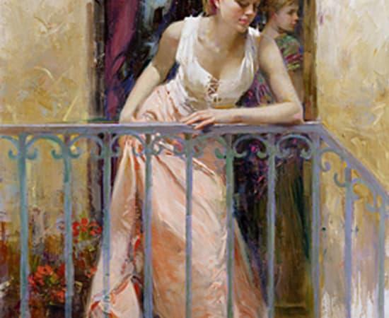 Pino, At The Balcony