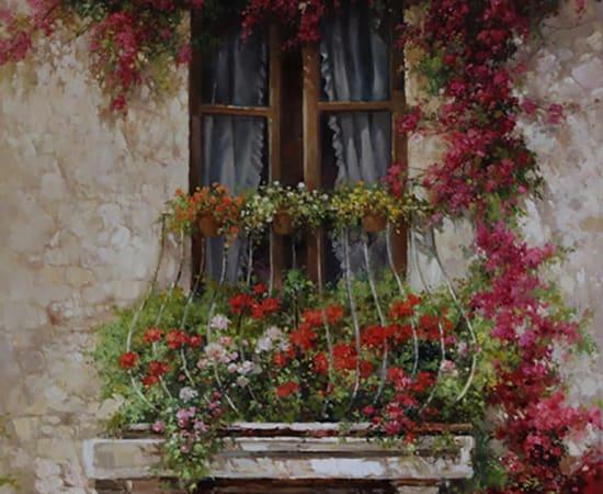 Paul Guy Gantner, Set (2 of 3) Fleurs de Beaute