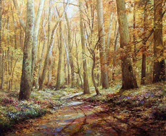 Paul Guy Gantner, Path into the Woods