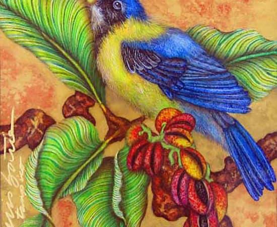 Luis Sottil, Spring in Colors Blue