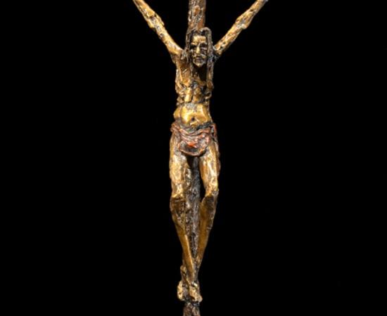 Gib Singleton, Bowed Crucifix 28' (Standing)