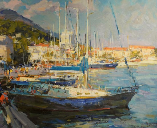 Alex Shabadei, Yachts in the Port