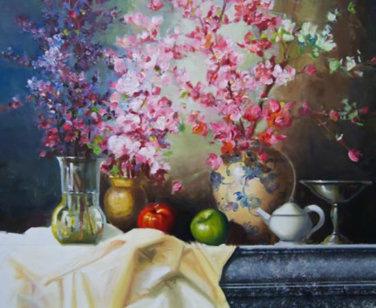 James Jensen, Plum Blossoms 00138