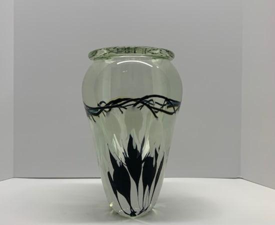 Tim Lotton, White Bleeding Heart Vase