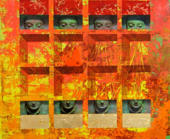 James Jensen, Buddha's Peeking 00418