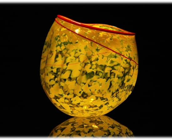 Robert Kaindl, Yellow With Red Lip Wrap