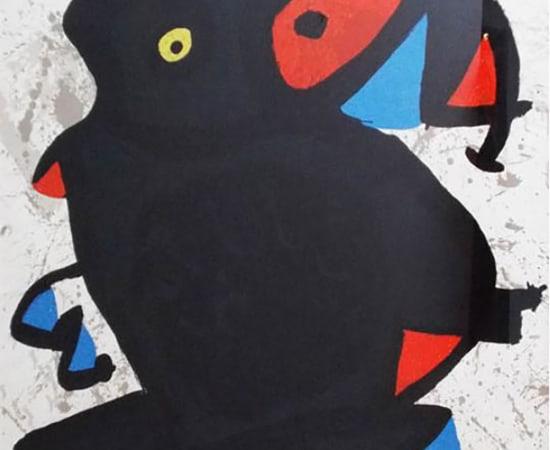 Miro, Affiche pour l'Exhibition