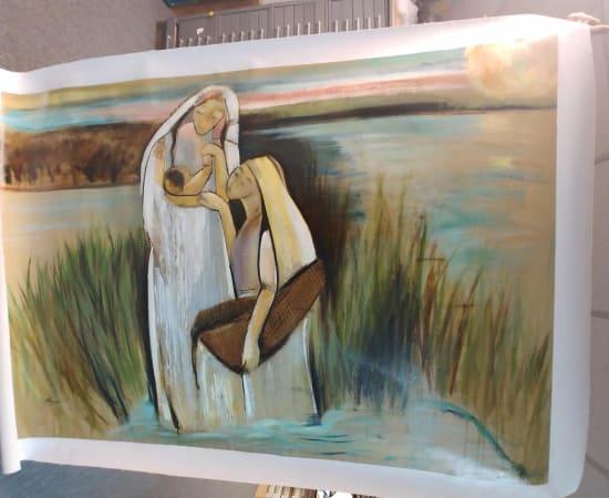 Helen Zarin, Moses